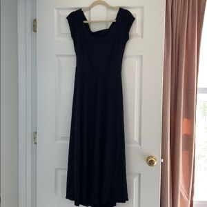 Lush Dresses - Black midi dress